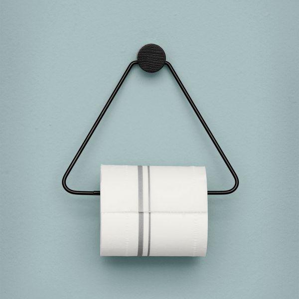 Ferm Living Toilettenpapierhalter schwarz