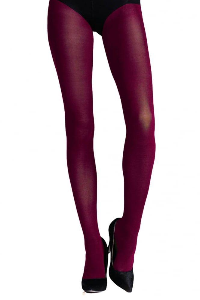 Ladies Plain Tights Luxurious Soft 40 Denier Semi Opaque Colour Tights One Size
