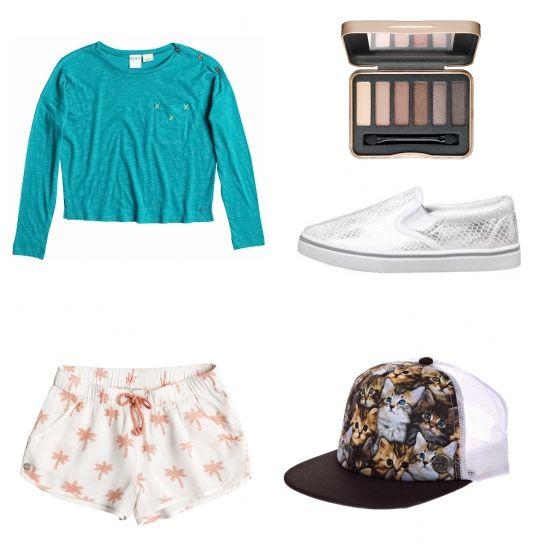 Süßes Sommeroutfit für Mädchen - Erstellt mit collageAd!