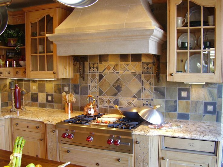 spanish tile Backsplash kitchen ideas