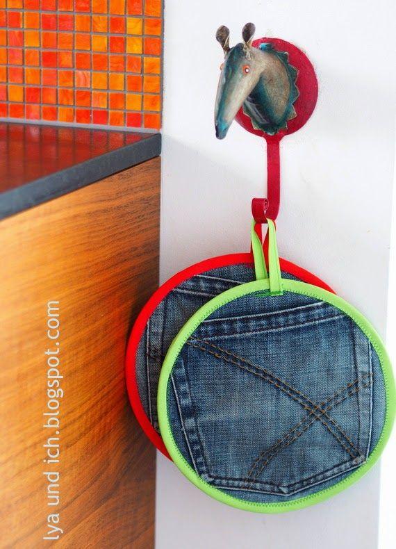 JeansUpcycling für die Küche