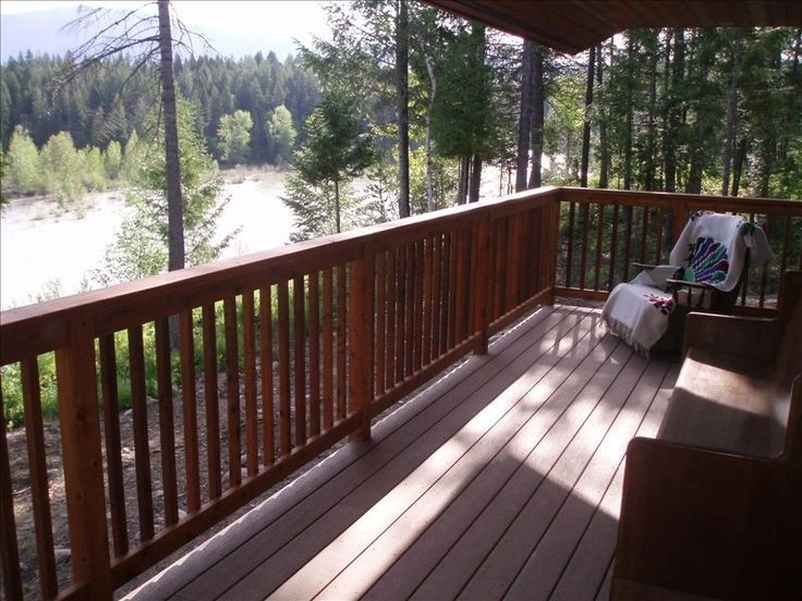 West Glacier House Rental National Park Views And Riverfront Lodging
