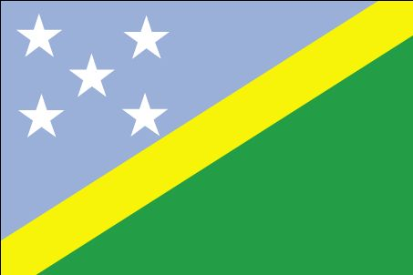 Country Flags: Solomon Islands Flag