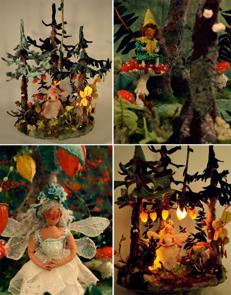 Fairy Forest sculpture, Phoebe Wahl 2013 #phoebewahl