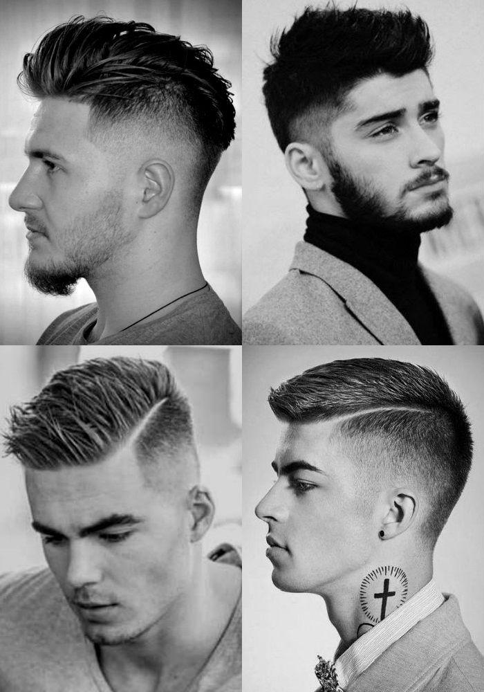 Homem No Espelho - Corte de cabelo masculino degradê - Cortes Mid Fade