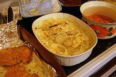 Pommes de terre à la crème fraîche - Recettes Alsaciennes, Recette de cuisine d'Alsace