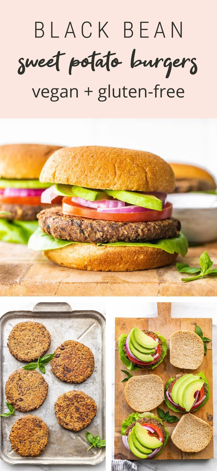 Black Bean Sweet Potato Burger Recipe Eating Bird Food Recipe In 2020 Sweet Potato Burgers Vegan Recipes Healthy Food Allergies