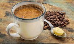 Esse café combina café orgânico, manteiga e óleo de coco. Você se atreve a experimentar? #bulletproofcoffee #coffee #café #receitas