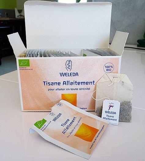 Efficacité réelle de la tisane allaitement weleda galactogène après test