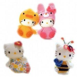 Cute Kawaii Amigurumi Patterns : 17 Best ideas about Hello Kitty Crochet on Pinterest ...
