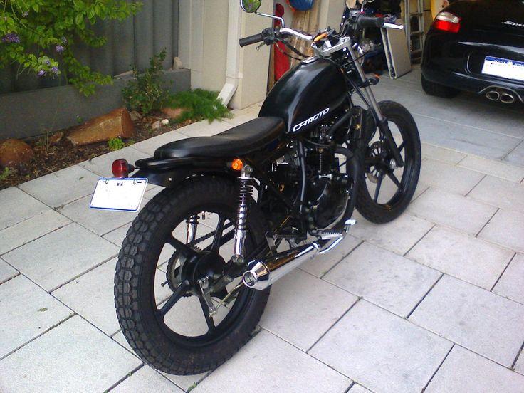 CF Moto 150 Leader Bratstyle