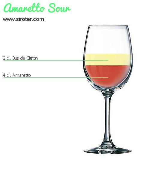 Cocktail Amaretto sour