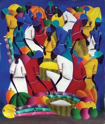 Pinturas Naif Dominicanas Haitianas