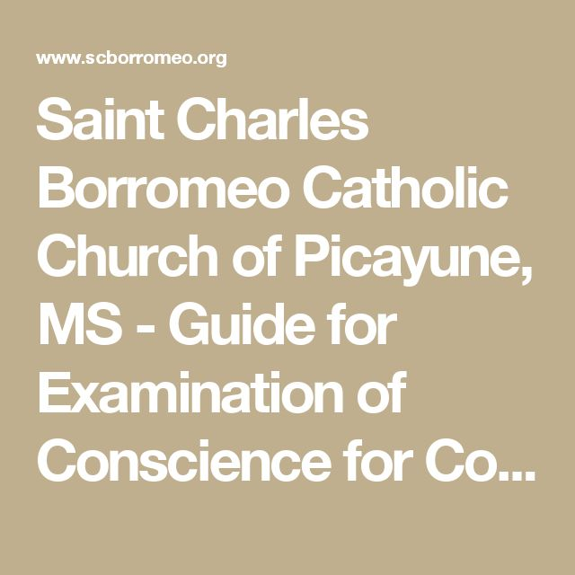 The 25+ best Examination of conscience catholic ideas on ...