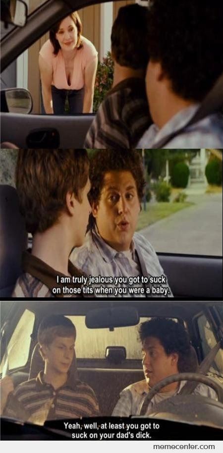 This quote at the very beginning was how I knew this entire movie would be hilarious and I was not disappointed lol *Superbad*