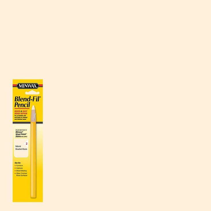 Minwax #2 Blend-Fil Pencil (8-Pack), Blister Pack Natural/Bleached Woods Blend-Fil Pencil