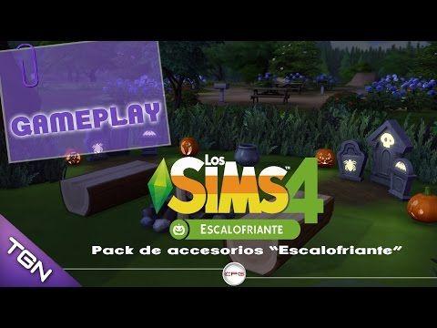 Los Sims 4 - Fiesta del terror en cuatro pasos - Escalofriante - YouTube