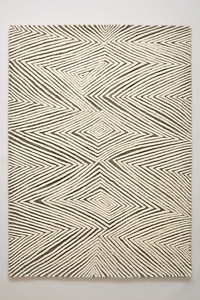 Sand Waves Rug #anthropologie love this rug....comes in 9x12 but sold out....hopefully they will get more.