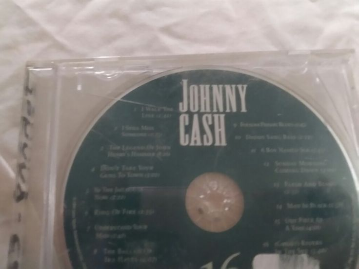 JOHNNY CASH  1. I WALK THE LINE  2. I STILL MISS SOMEONE  3. THE LEGEND OF JOHN HENRY'S HAMMER  4. DON'T TAKE YOUR GUNS TO  5. IN THE JAILHOUSE NOW  6. RING OF FIRE  7. UNDERSTAND YOUR MAN  8. THE BALLAD OF IRA HAYES  9. FOLSOM PRISON BLUES  10. DADDY SANG BASS  11. A BOY NAMED SUE  12. SUNDAY MORNING COMING DOWN  13. FLESH AND BLOOD  14. MAN IN BLACK  15. ONE PIECE AT A TIME  16. GHOST RIDERS IN THE SKY