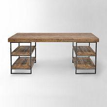 rustic office desk. Rustic Desk Home Office. - Office | West Elm D