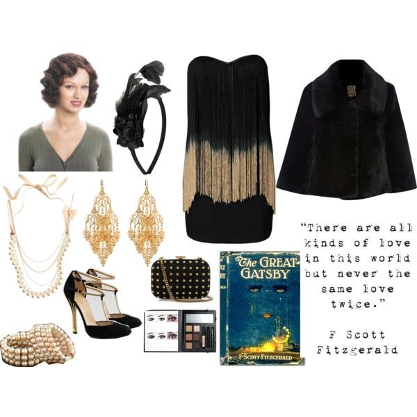 """""""The Great Gatsby Book"""" by deathordesigner on Polyvore"""
