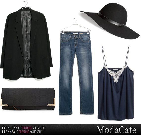 Co takiego robią modne Francuzki, że zawsze wyglądają świetnie?  …bo Francuzki kochają kapelusze!  Równie mocno darzą miłością romantyczne, koronkowe topy, noszone do marynarek oversize i prostych jeansów.  Więcej na Moda Cafe!