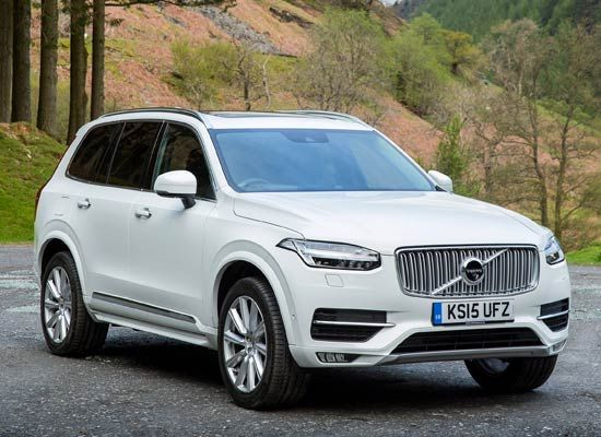 2016 New Volvo XC90. Not normally a big fan of big 4x4's, but have to admit that this looks good