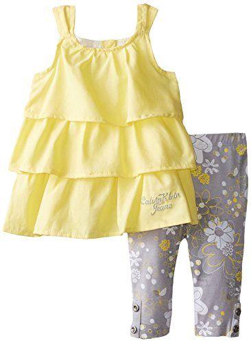Calvin Klein Baby Girls' Tunic with Printed Leggings, Yellow, 24 Months Calvin Klein http://www.amazon.com/dp/B00NVEWT4W/ref=cm_sw_r_pi_dp_eAFFvb1HQGR4G