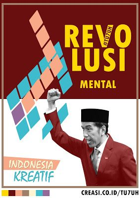 Revolusi Mental 70Th Indonesia - Artwork Challenge