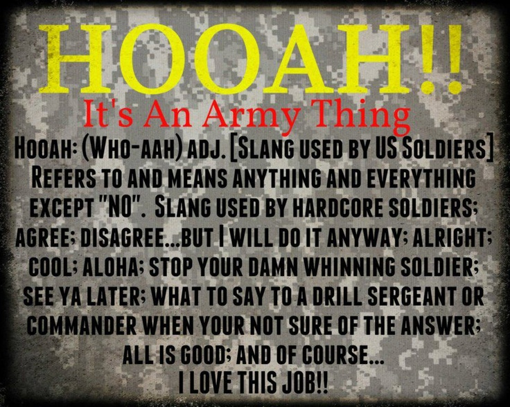 26 best images about Hooah! on Pinterest | No time, Air force and ...
