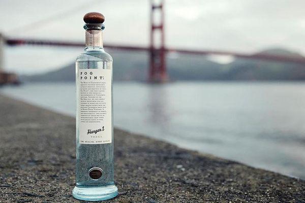 Fog Point Limited-Edition Vodka, by Hangar1 | Baxtton