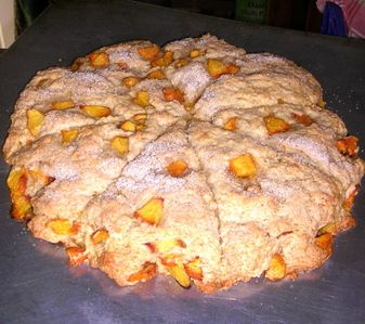 Forgotten Ways Farm fresh fruit scone and with easy Devonshire cream. Site contains other long forgotten recipes :)