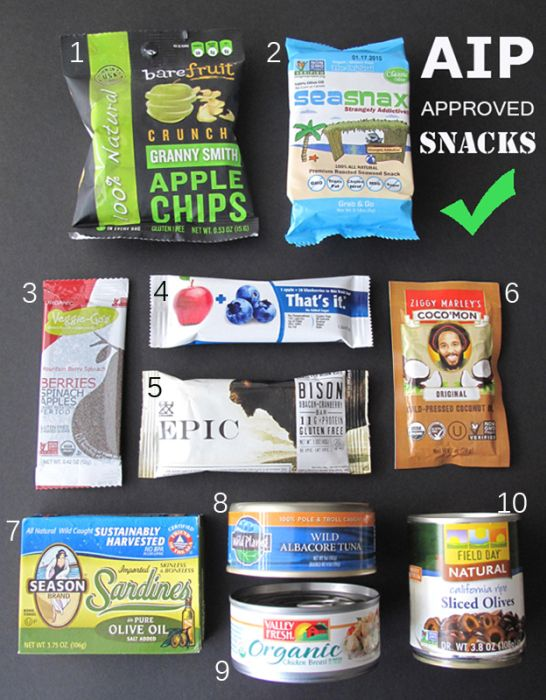 AIP Convenience Snacks