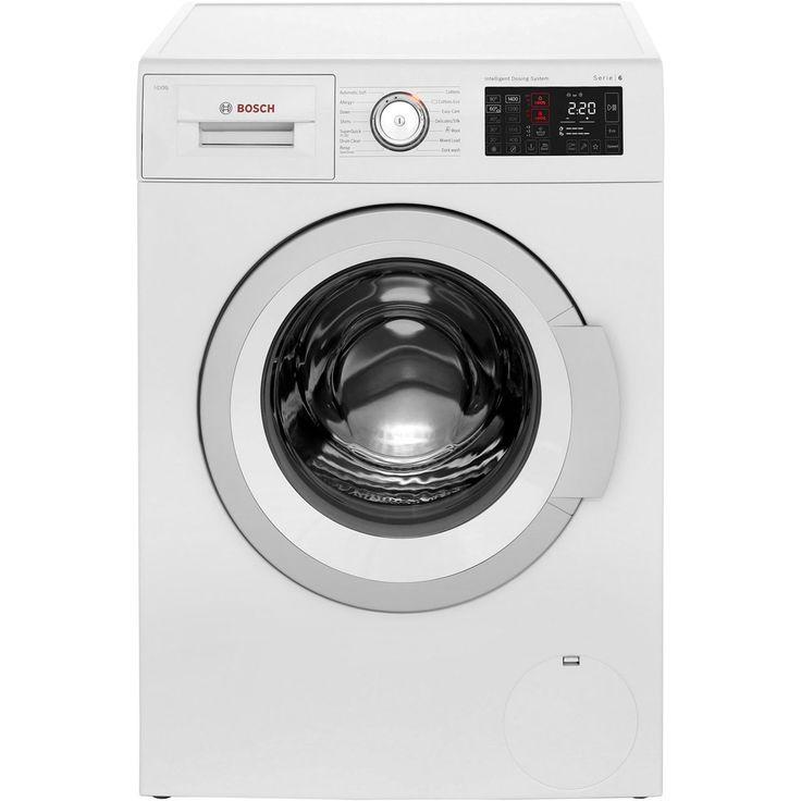 Bosch Serie 6 WAT28661GB I-Dos 1400RPM 8Kg Washing Machine - White #Bosch #WashingMachine