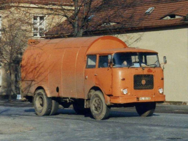 Škoda 706 RTK BOBR, vůz pro svoz komunálního odpadu