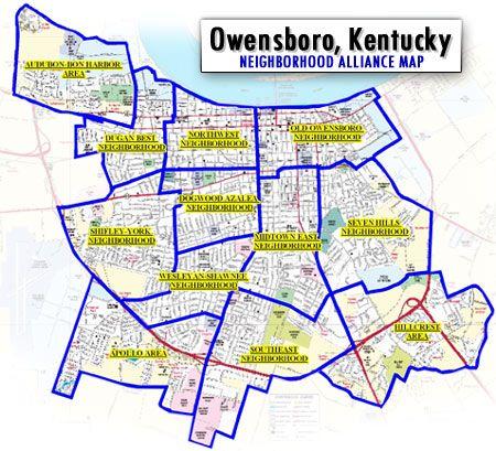 Owensboro Ky Zip Code Map Zip Code Map