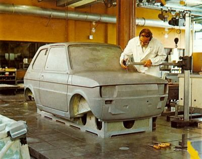 Fiat 126 Clay mock-up