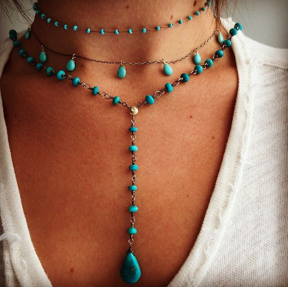 Rebecca Lankford Rosary Necklace: Sydney Buchanan - Inspirational and Fine Jewelry