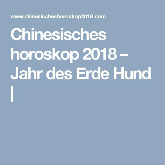 Chinesisches horoskop 2018 – Jahr des Erde Hund |