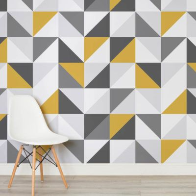 yellow-and-grey-abstract-geometric-design-square-wall-murals
