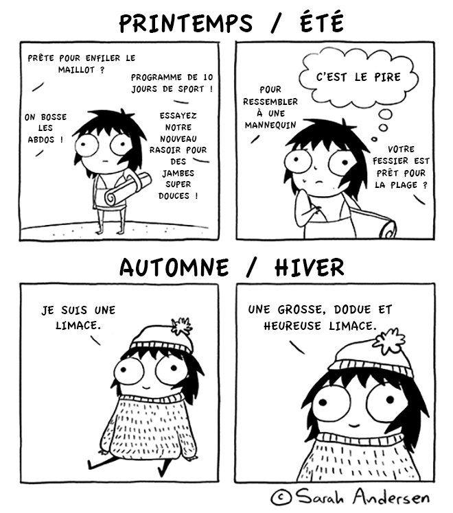 Les petits problèmes quotidiens de filles, illustrés dans des mini-BD très drôles. A voir absolument !