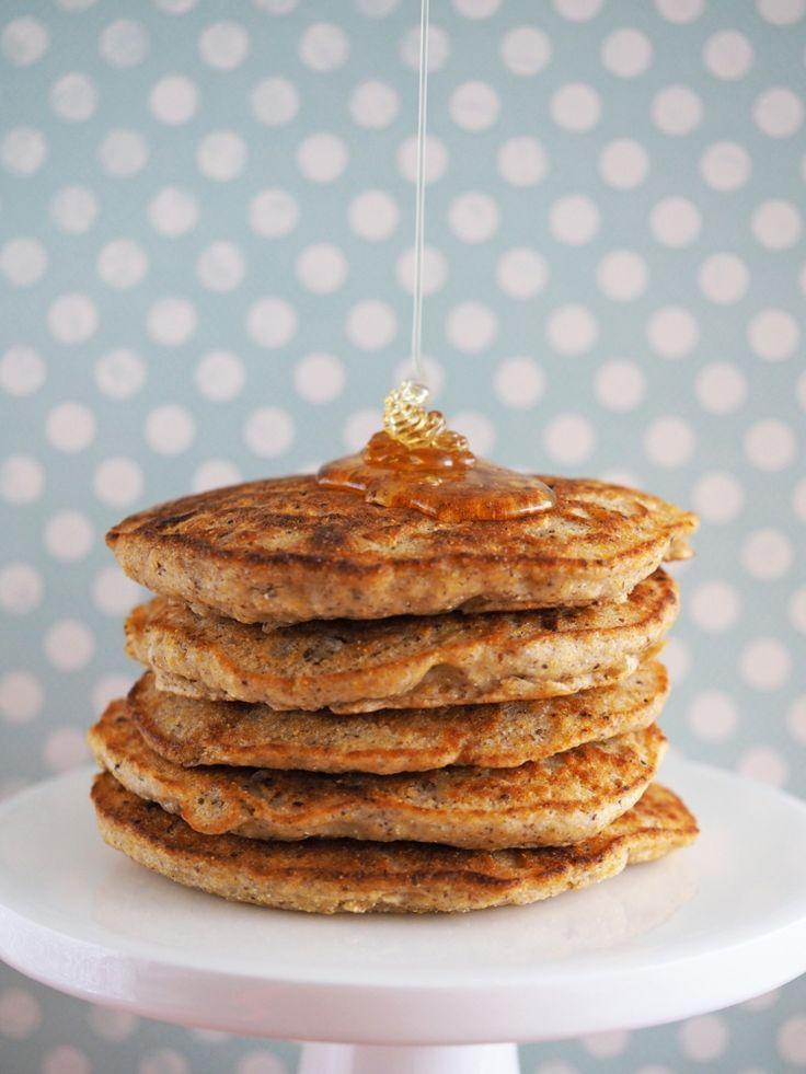 crepes vegan pancakes-sirop-érable-recette-saine-facile