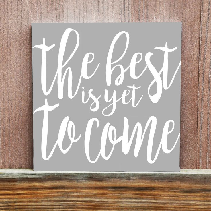 The Best Is Yet To Come Canvas - Hand Painted - Retirement Gift - Wedding Gift - 12x12 - 11x14 - 16x20 -Wedding Decor - Home Decor by LittleDoodleDesign on Etsy