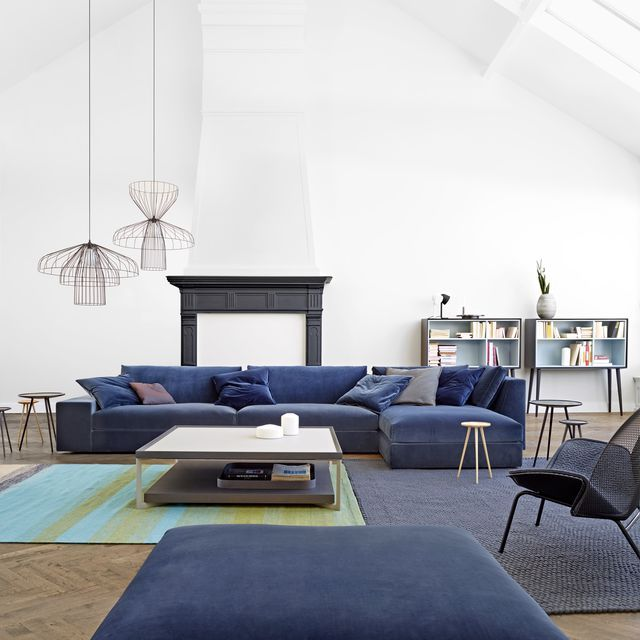 'Exclusive' Sectional Sofa by Didier Gomez for Cinna Furniture