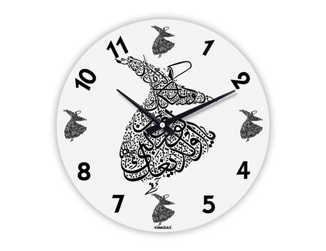 Dekoratif İlginç Mevlana Cam Duvar Saati Modeli  Ürün Bilgisi;  Gerçek cam kullanılmıştır Sessiz akar saniye Çap 36 cm. Gayet şık ve aynalı duvar saati Yeni model duvar saati Ürün resimde olduğu gibidir