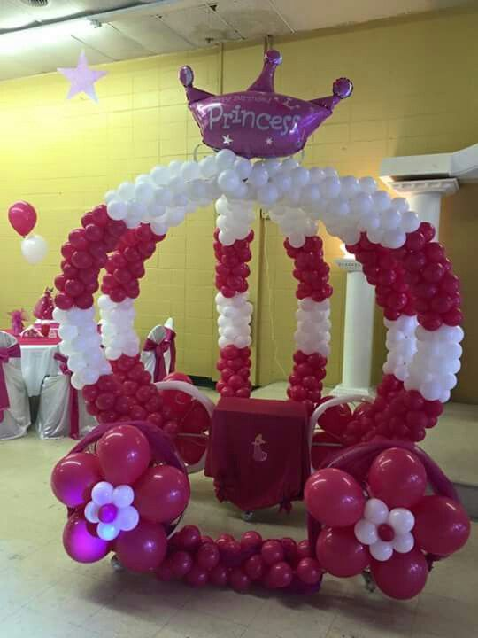 48 Best Balloon Cinderella Carriages Amp Castles Images On