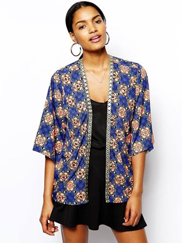 Stained Glass-Inspired Kimono