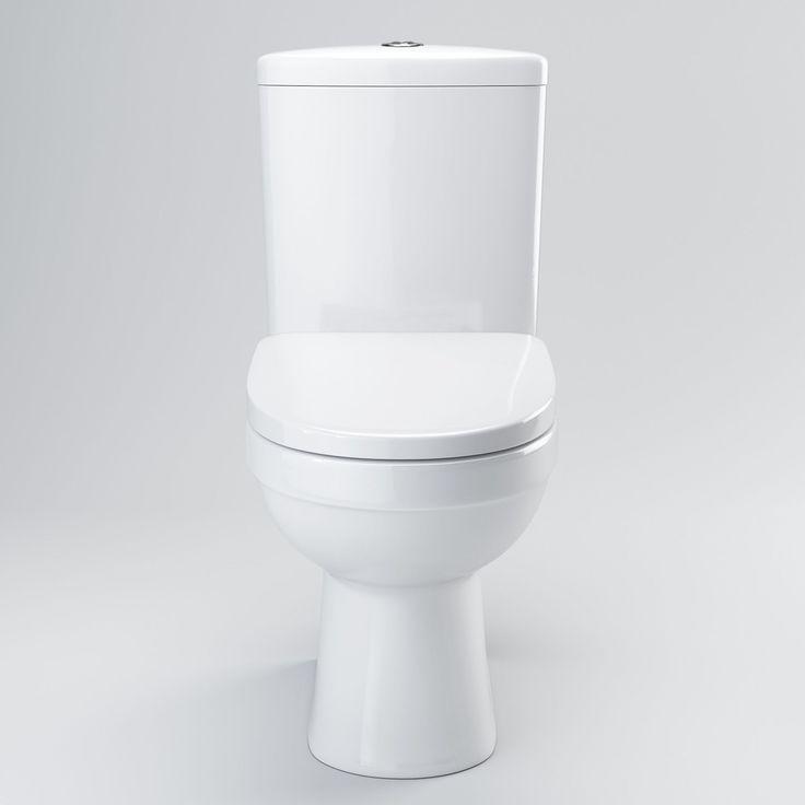 Sabrosa II Close Coupled Toilet & Cistern inc Soft Close Seat