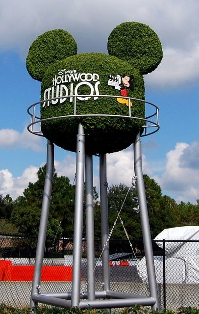 Topiary water tower