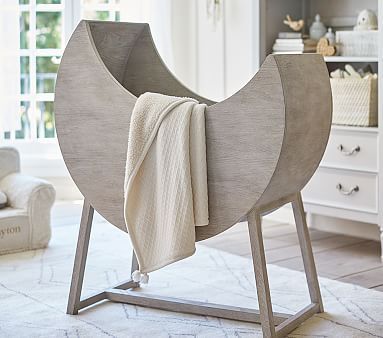 Moon Bassinet & Mattress Pad Set #pbkids Cheap Baby Bassinets: http://www.theproductguide.net/top-10-cheap-bassinets-for-your-baby-2/